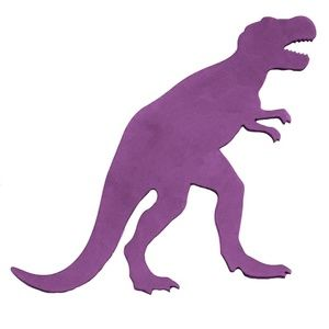 Onlinepartycenter Accents - Purple T-Rex Dinosaur Wood Wall Decoration Decor